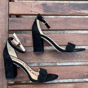 Sam Edelman Odila sandal black suede US 5/ EU 35